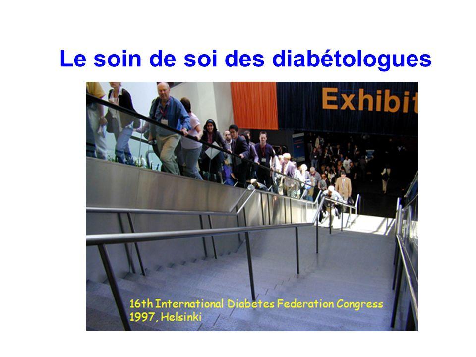 Le soin de soi des diabétologues