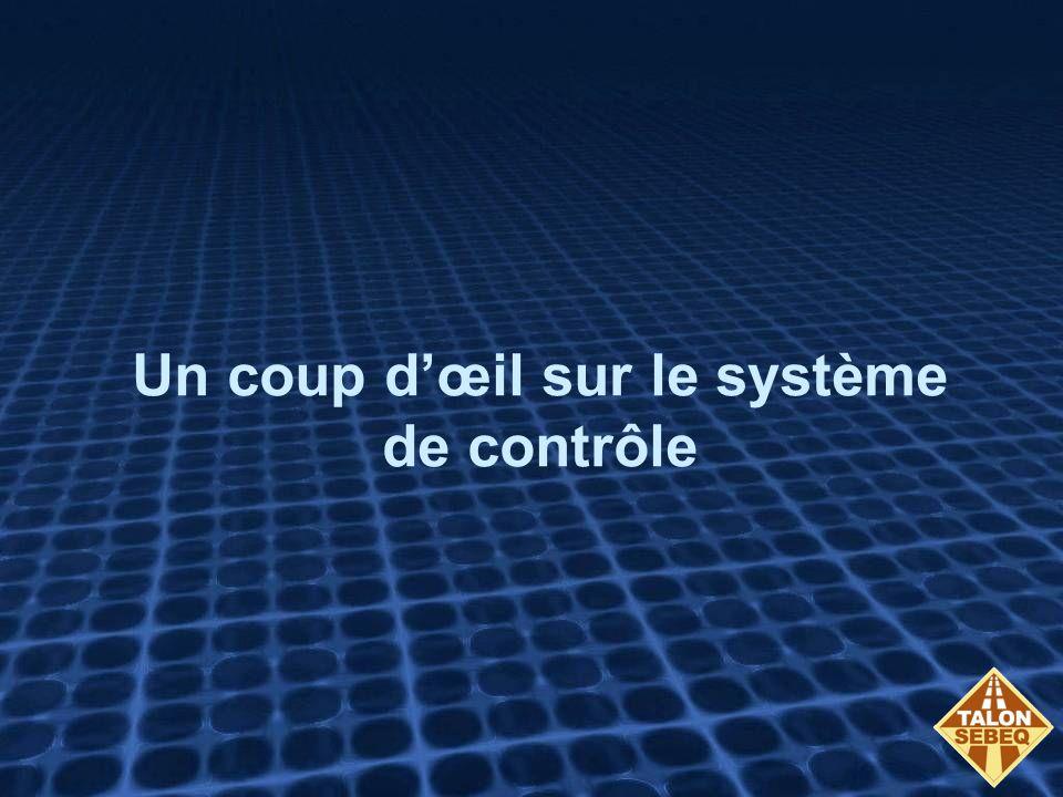 Un coup dœil sur le système de contrôle