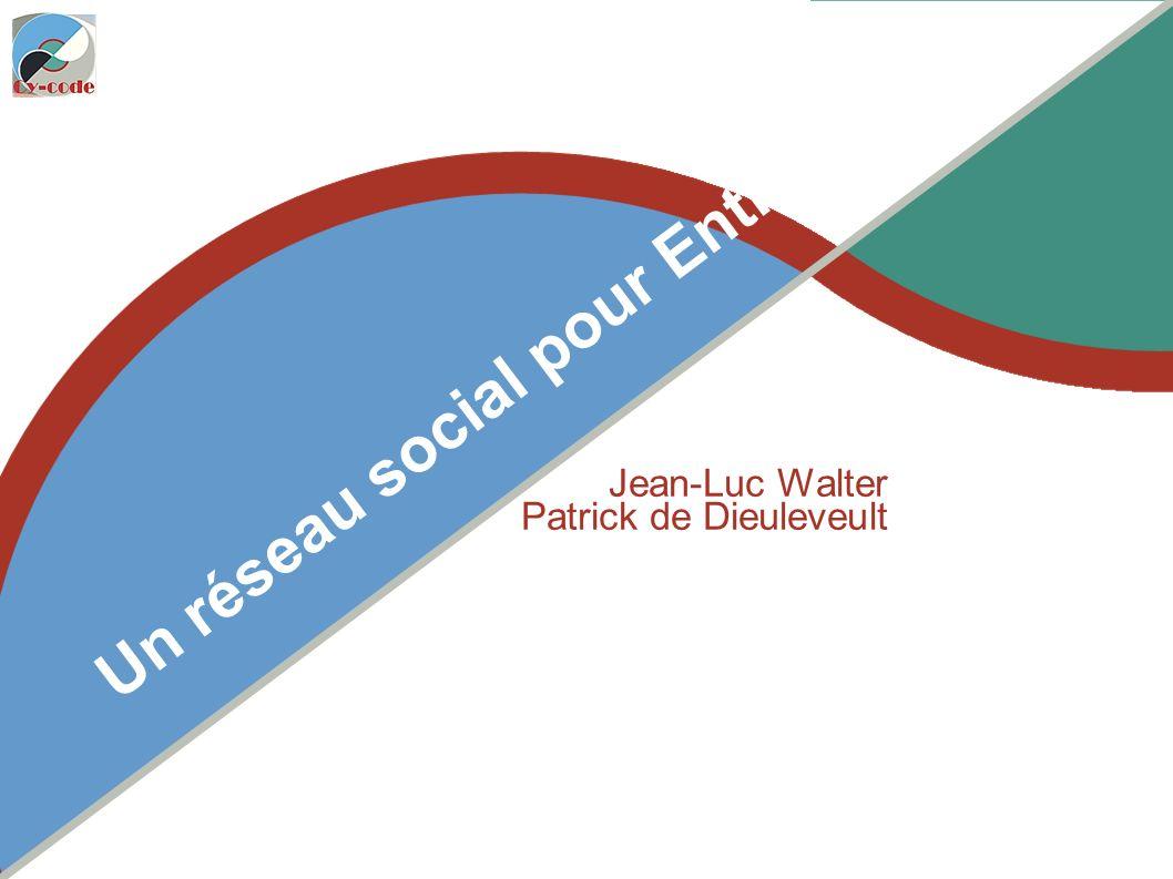 Lundi 21 mars 2011 Un réseau social pour Entreprise Jean-Luc Walter Patrick de Dieuleveult