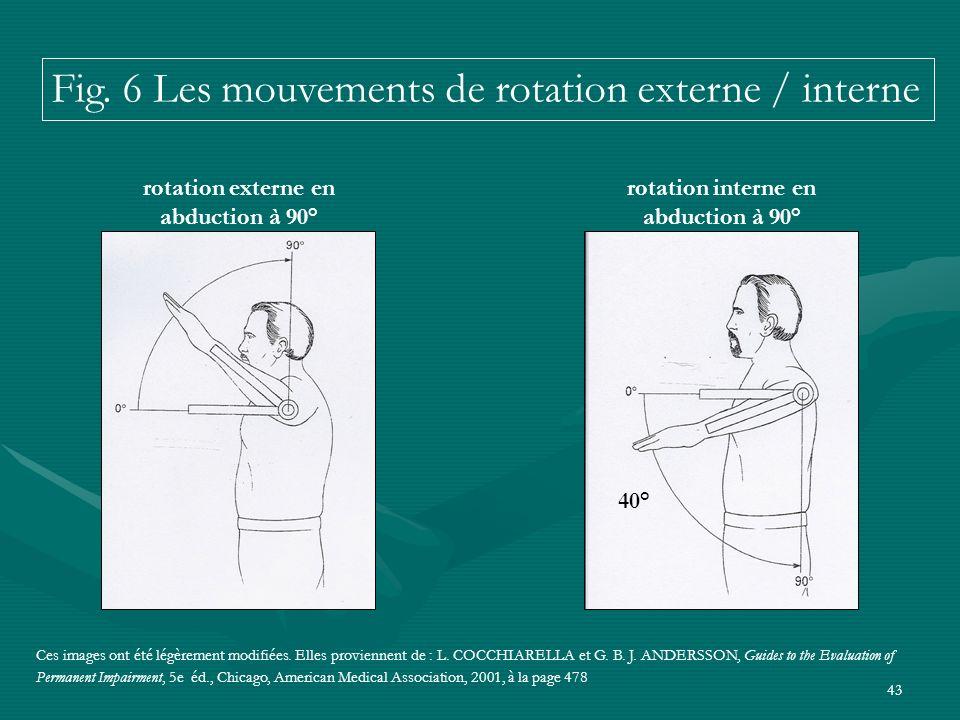 43 Ces images ont été légèrement modifiées. Elles proviennent de : L. COCCHIARELLA et G. B. J. ANDERSSON, Guides to the Evaluation of Permanent Impair