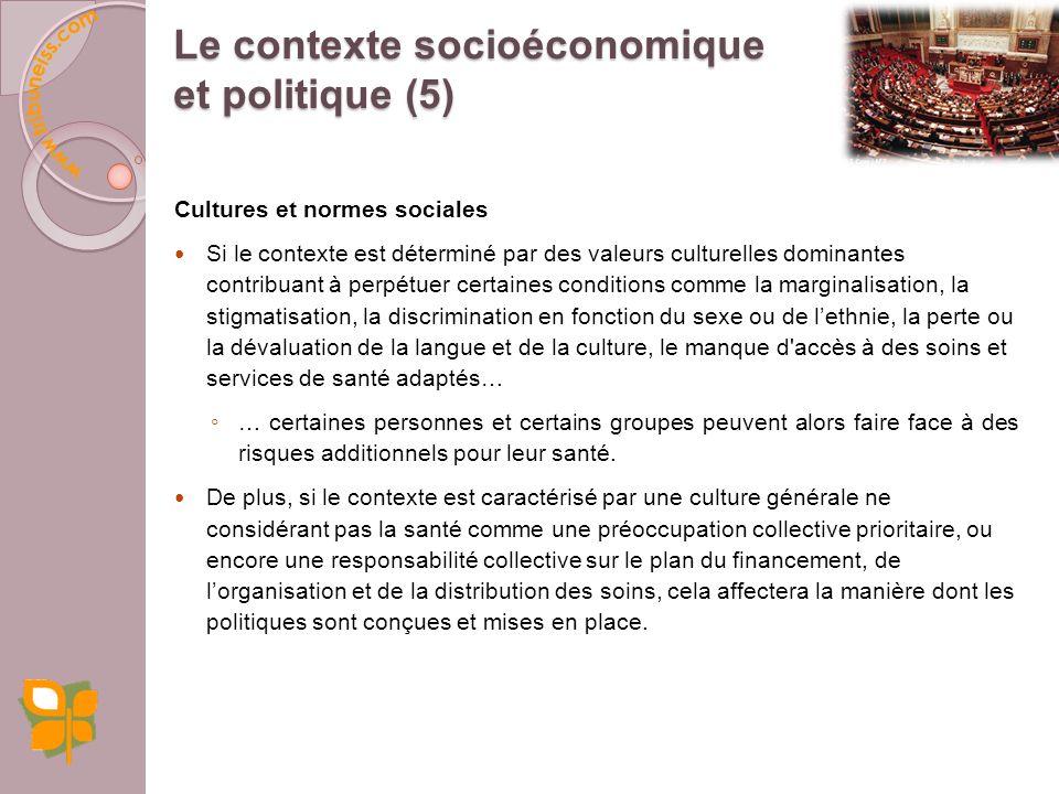 Des sites Internet : International Journal for Equity in Health –International Society for Equity in Health http://www.iseqh.org/http://www.iseqh.org/ Organisation mondiale de la Santé (OMS) http://www.who.int/social_determinants/fr/index.htmlhttp://www.who.int/social_determinants/fr/index.html Les Knowledge Networks issus de la commission sur les DSS http://www.who.int/social_determinants/knowledge_networks/en/ http://www.who.int/social_determinants/knowledge_networks/en/ Centre national de collaboration sur les déterminants de la santé http://www.nccdh.ca/ccnds/index.htmlhttp://www.nccdh.ca/ccnds/index.html Social Determinants of Health THE CANADIAN FACTS, par Juha Mikkonen et Dennis Raphael, 2010.