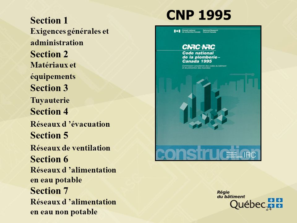 23 Différence de forme CNP 1995 vs CNP 2005