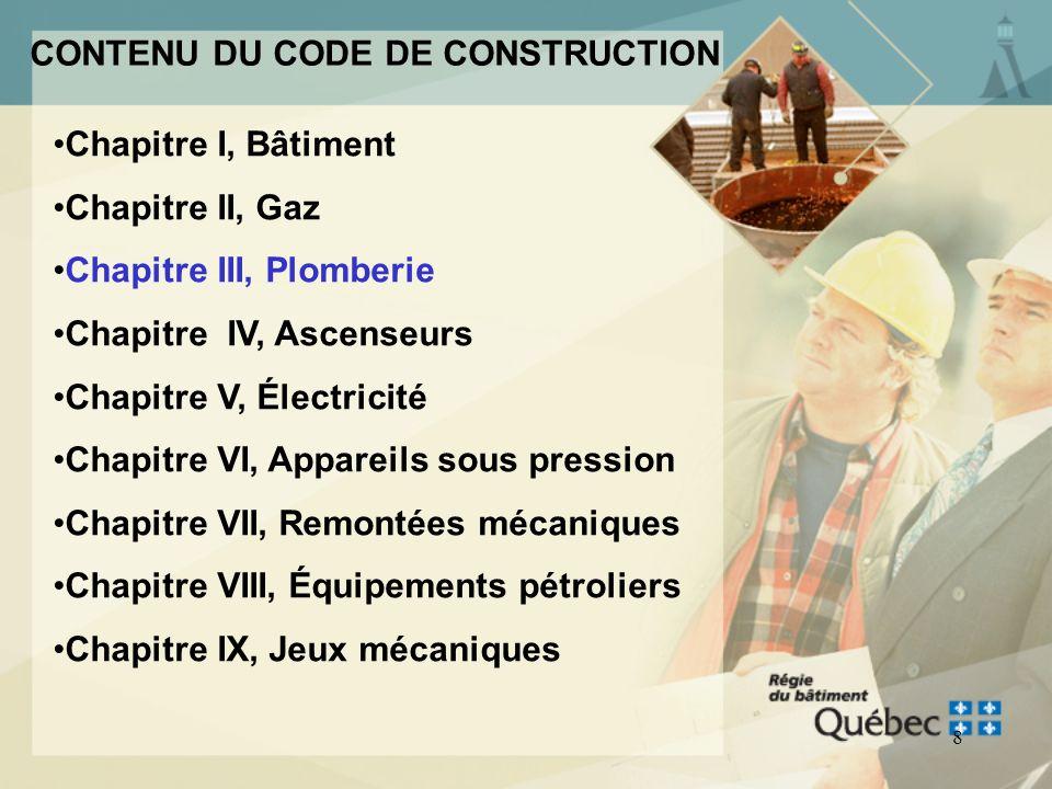 7 Objectif : Assurer la qualité des travaux de construction Assurer la sécurité des personnes qui accèdent à un bâtiment ou à un équipement destiné à