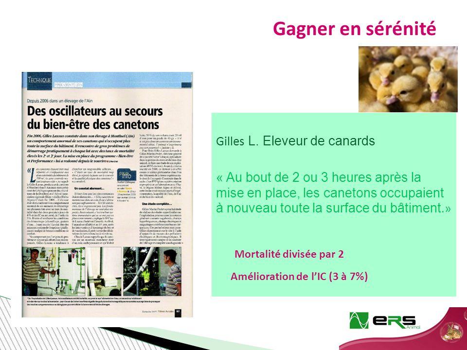 Gagner en sérénité Gilles L.