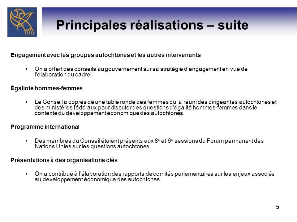 6 Priorités (2010-2011) Le CNDEA a établi trois priorités pour 2010-2011: I.
