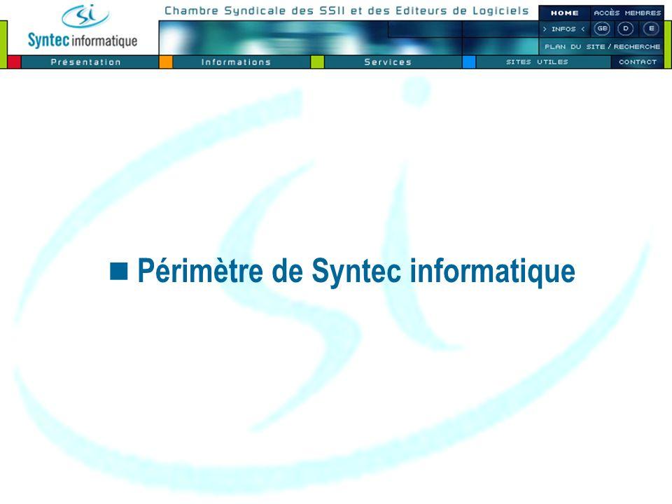 Périmètre de Syntec informatique
