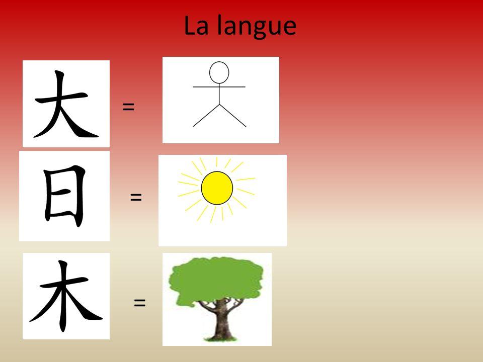 La langue = = =