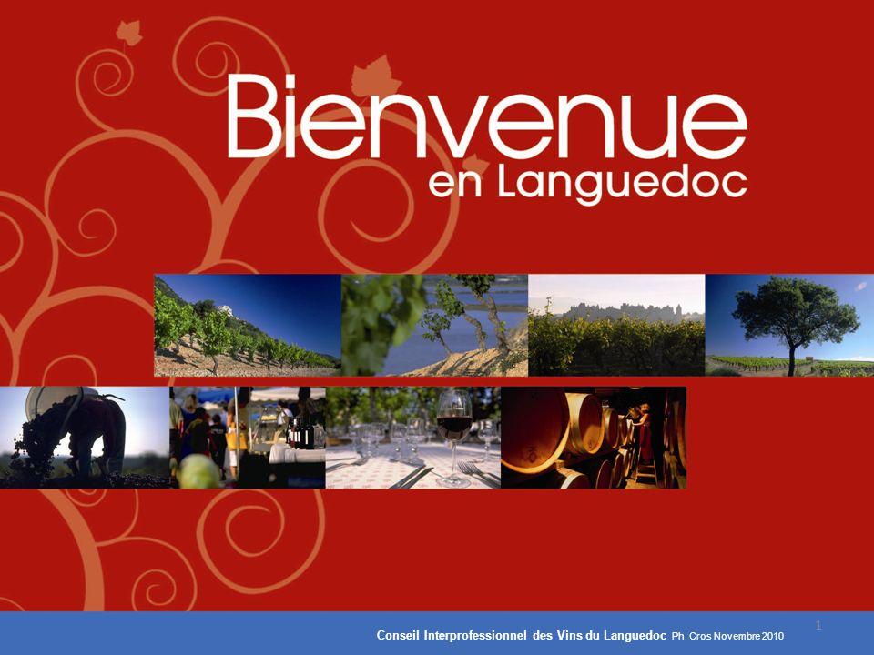 1 Conseil Interprofessionnel des Vins du Languedoc Ph. Cros Novembre 2010