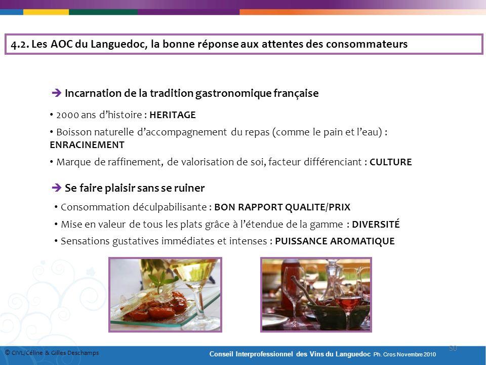 Incarnation de la tradition gastronomique française 2000 ans dhistoire : HERITAGE Boisson naturelle daccompagnement du repas (comme le pain et leau) :