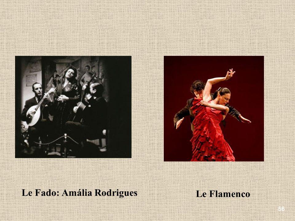 56 Le Fado: Amália Rodrigues Le Flamenco