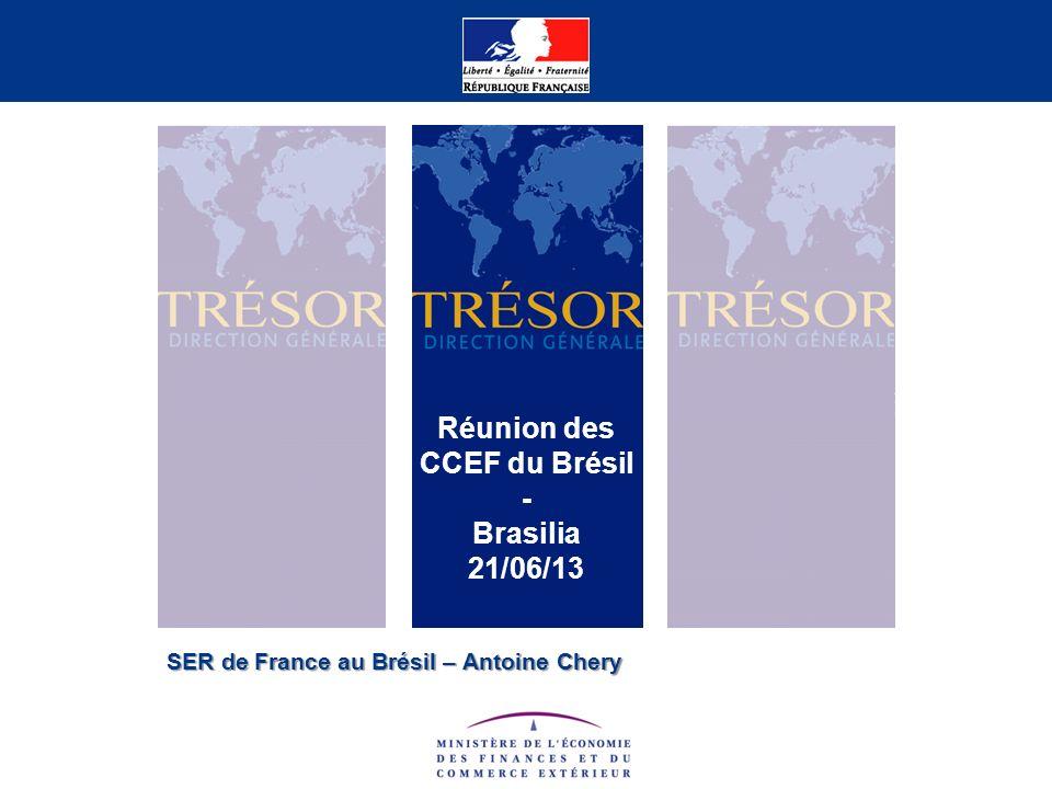 SER de France au Brésil – Antoine Chery Réunion des CCEF du Brésil - Brasilia 21/06/13