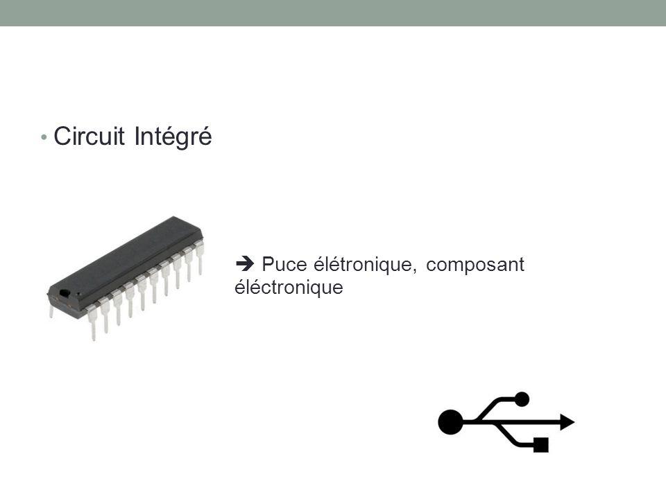 Circuit Intégré Puce élétronique, composant éléctronique