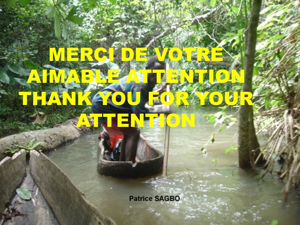 39 MERCI DE VOTRE AIMABLE ATTENTION THANK YOU FOR YOUR ATTENTION