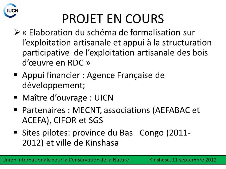 Questions à résoudre Comment comprendre le fonctionnement de la filière – bois au Bas - Congo .