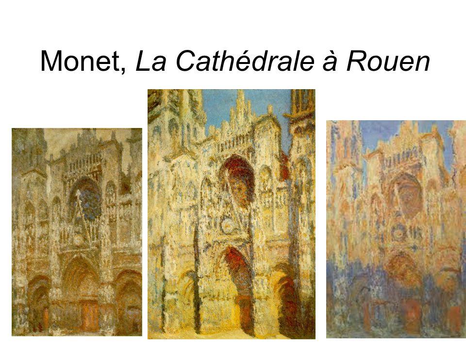 Monet, La Cathédrale à Rouen