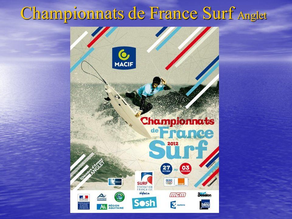 « 43 ème édition des Championnats de France de Surf » Délégation Languedoc-Roussillon Surf Junior (16-18ans): Surf Junior (16-18ans): Toni CANO Surf Open Surf Open: Clarence LÉTOURNEAU