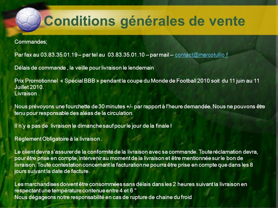 Conditions générales de vente Commandes;. Par fax au 03.83.35.01.19 – par tel au 03.83.35.01.10 – par mail – contact@marcotullio.fcontact@marcotullio.