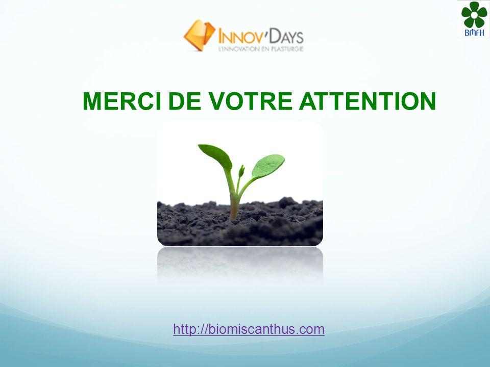 Le Biomiscanthus®: Une attente environnementale, une viabilité économique et une alternative de transition aux plastiques actuels Avec la diminution d