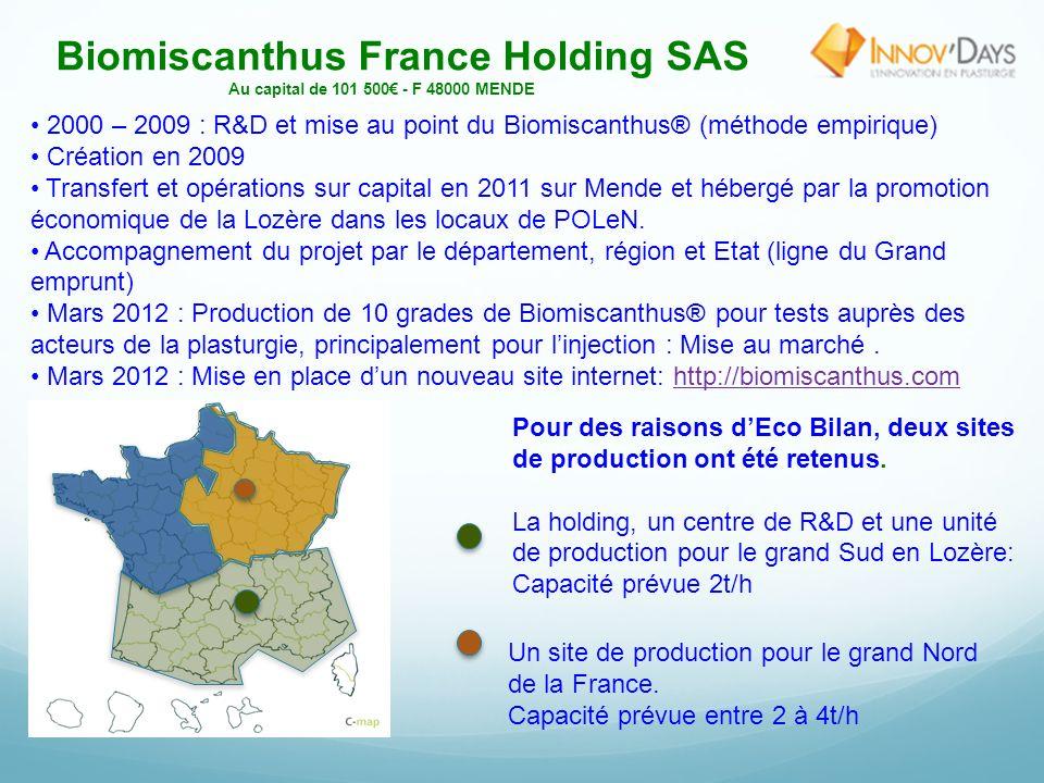 LES BIO PLASTIQUES TRANSPARENTS en Biomiscanthus® Lyon, le 29 mars 2012