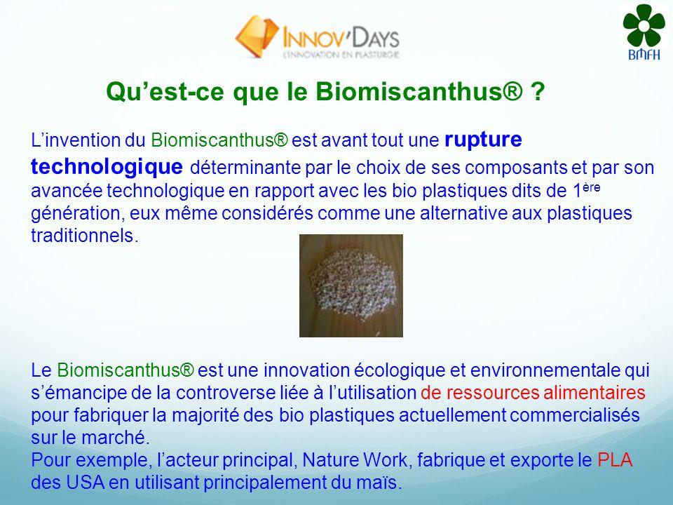 Quest-ce que le Biomiscanthus® .