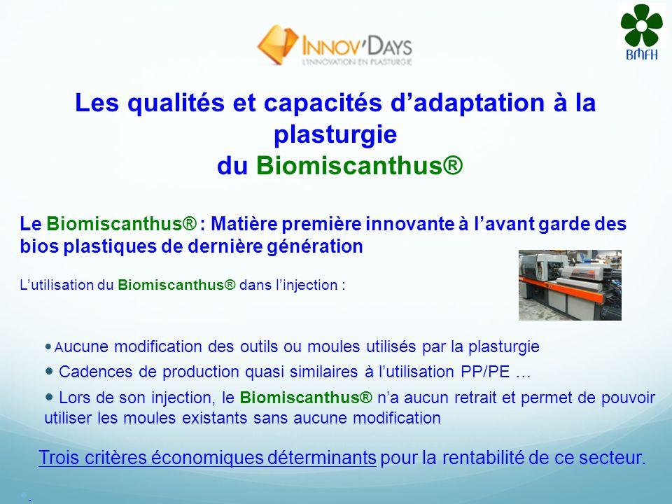 Quest-ce que le Biomiscanthus® ? Linvention du Biomiscanthus® est avant tout une rupture technologique déterminante par le choix de ses composants et