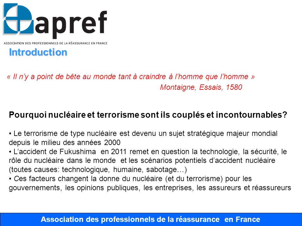 Association des Professionnels de la Réassurance en France Association des professionnels de la réassurance en France Japon- Fukushima Le cygne noir Un cygne noir est devenu par analogie le nom dun événement rare, sévère et non prévu.