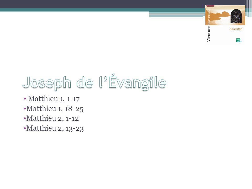Matthieu 1, 1-17 Matthieu 1, 18-25 Matthieu 2, 1-12 Matthieu 2, 13-23
