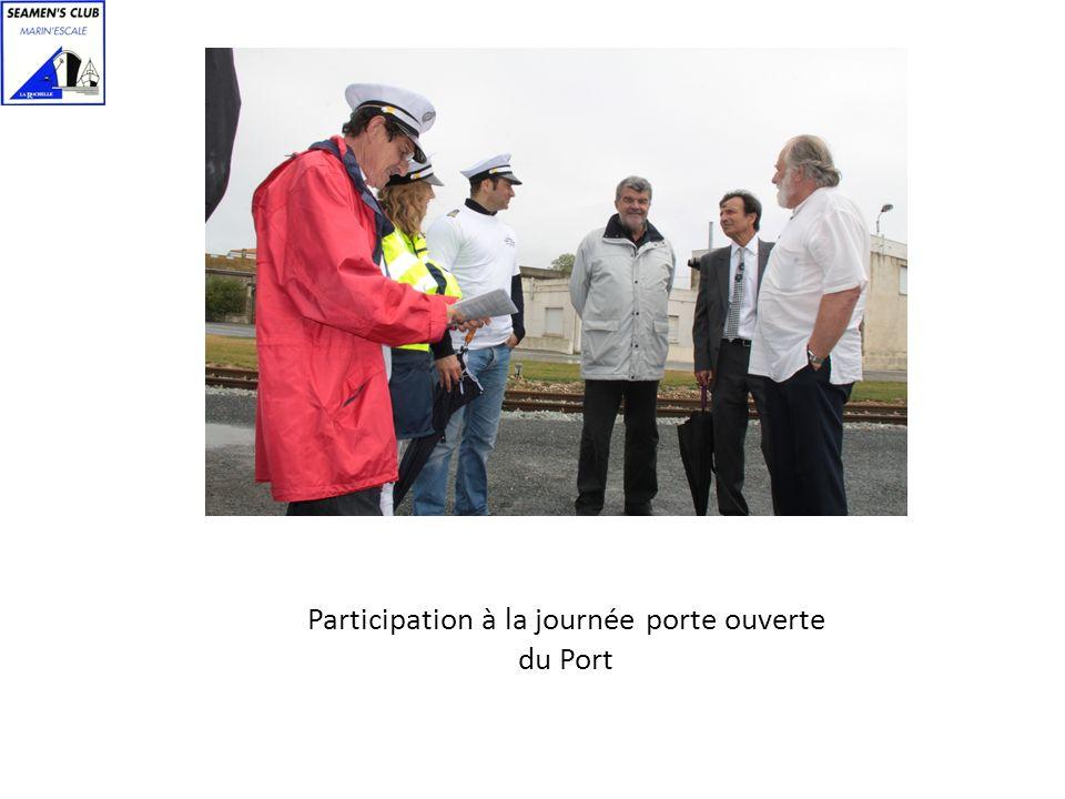 Participation à la journée porte ouverte du Port