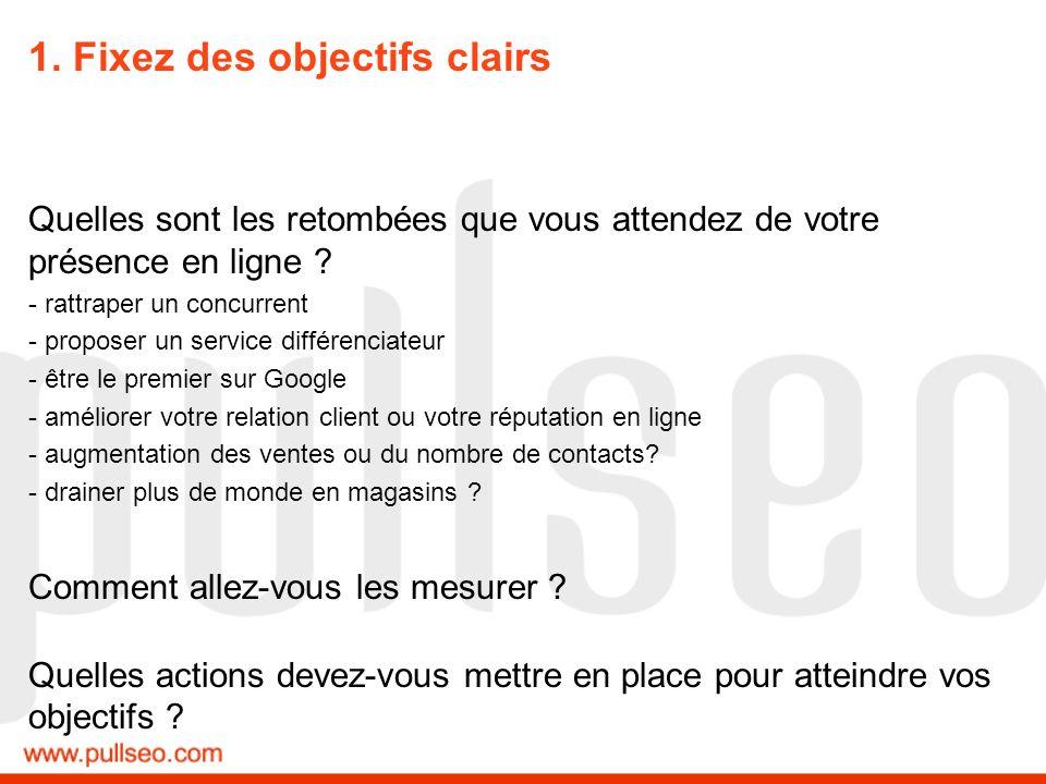 1. Fixez des objectifs clairs Exemple Hager : Votre-electricien.fr