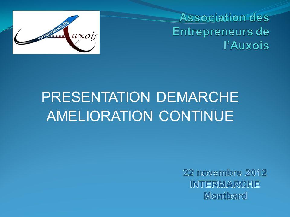 PRESENTATION DEMARCHE AMELIORATION CONTINUE