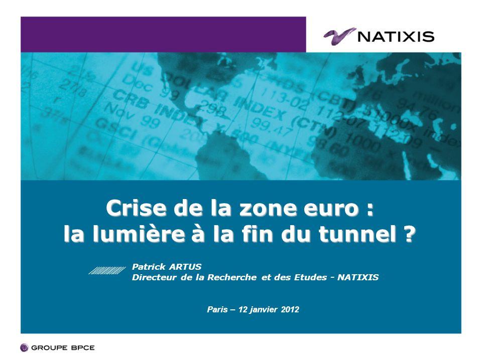 Crise de la zone euro : la lumière à la fin du tunnel .