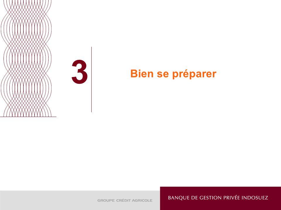 3 Bien se préparer