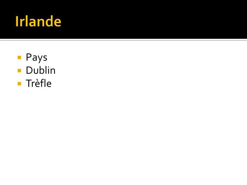 Pays Dublin Trèfle