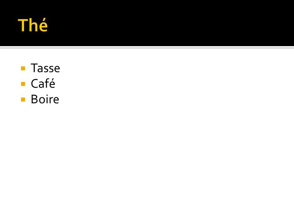 Tasse Café Boire