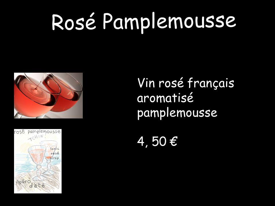 Rosé Pamplemousse Vin rosé français aromatisé pamplemousse 4, 50