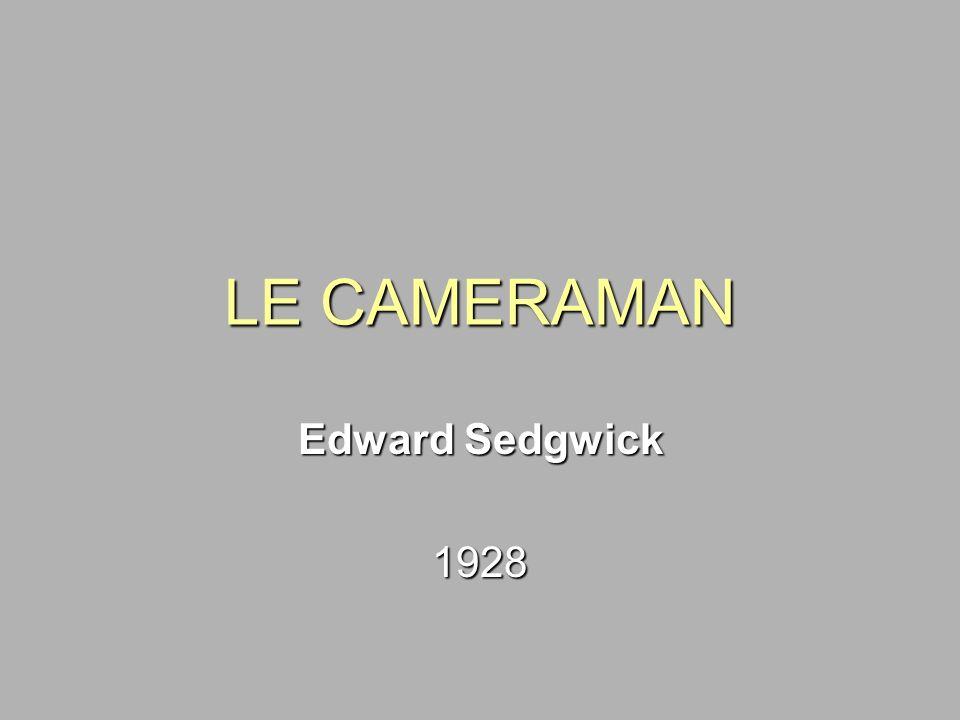LE CAMERAMAN Edward Sedgwick 1928