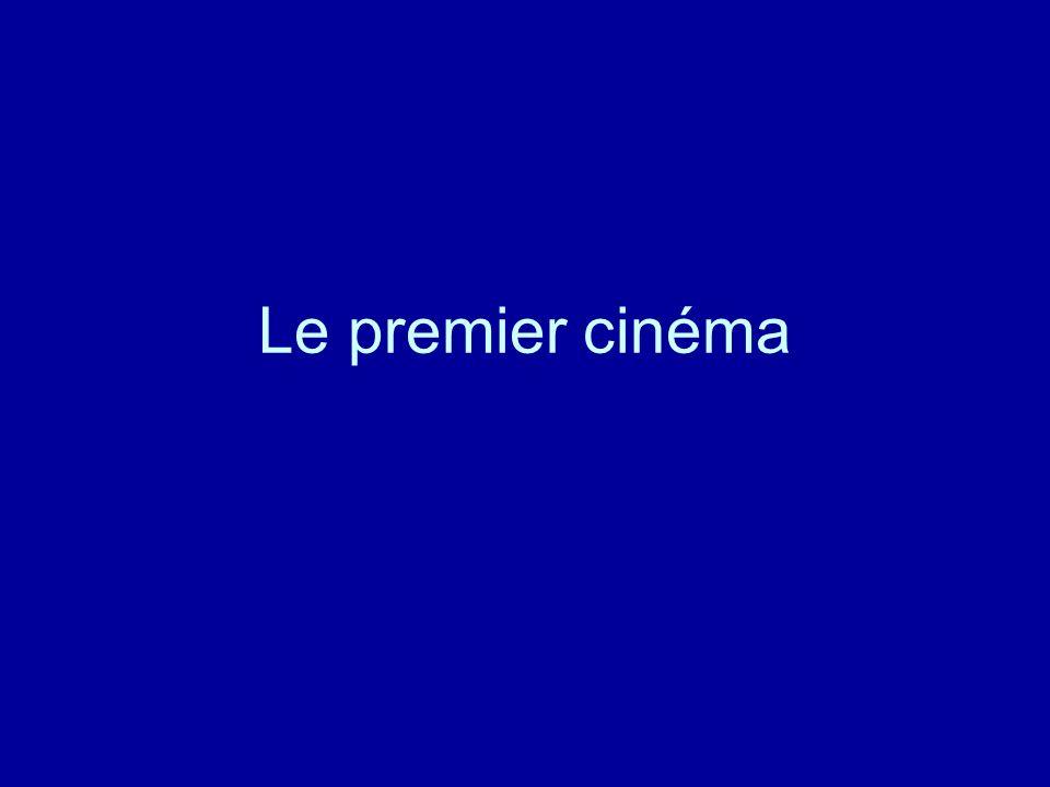 1895 Invention du cinématographe par Auguste et Louis Lumière 1896 Colorisation au pochoir 1897 Georges Méliès construit le premier studio de prises de vues.