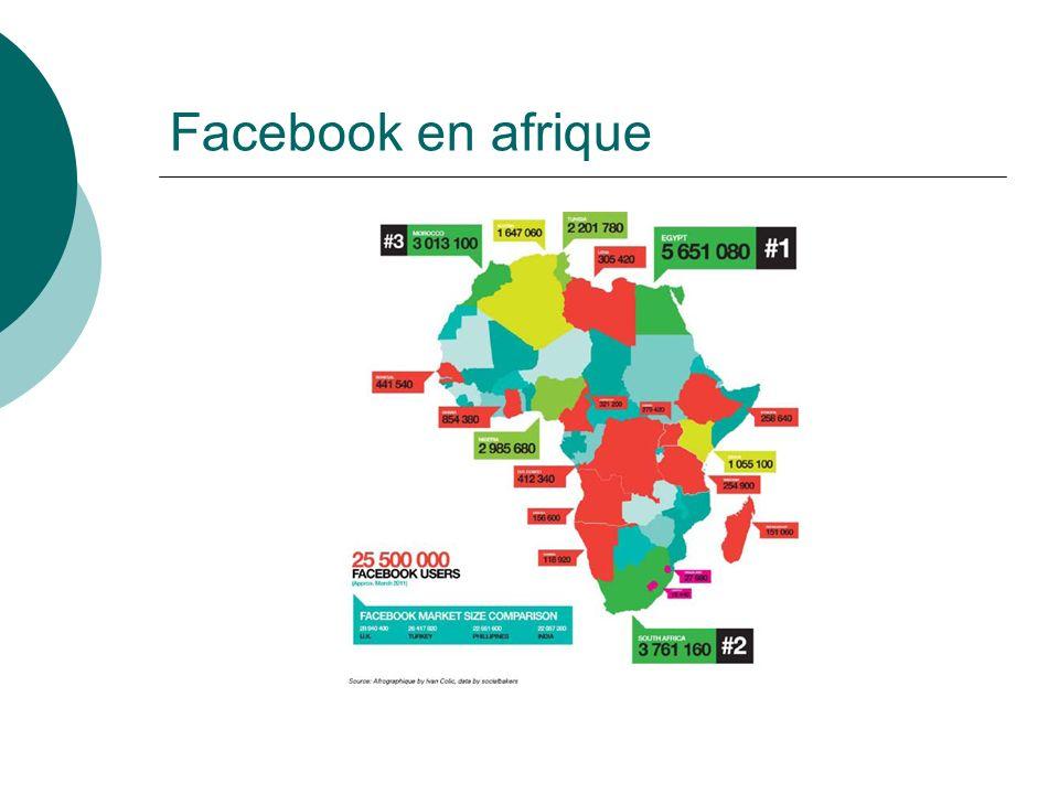 Facebook en afrique