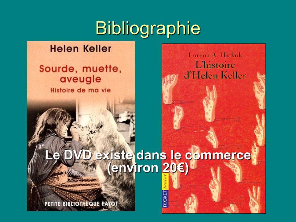 Bibliographie Le DVD existe dans le commerce (environ 20)