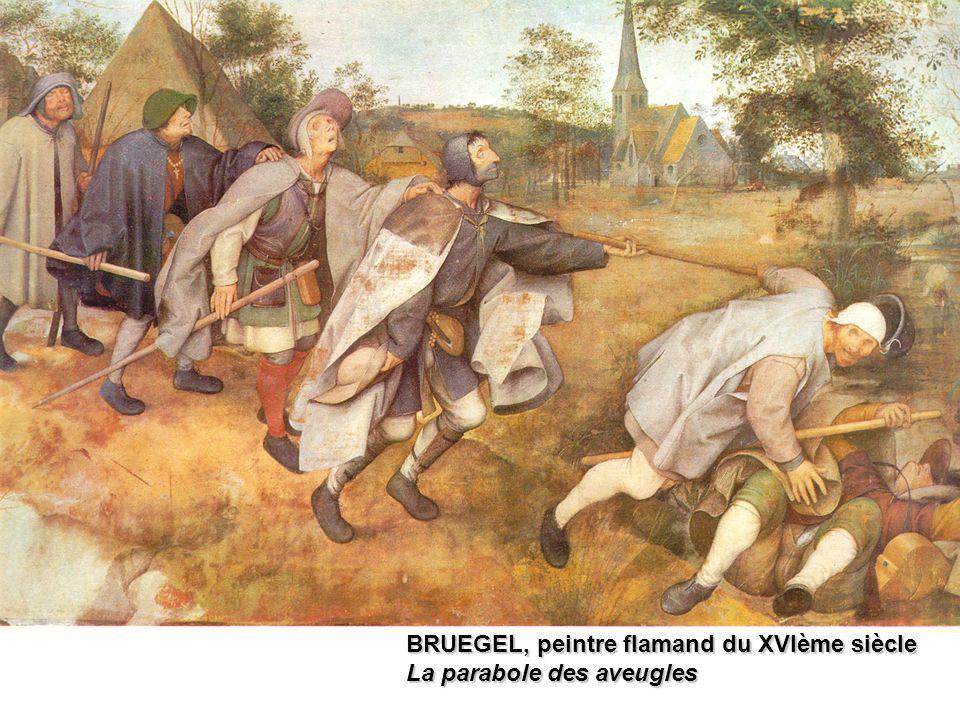 BRUEGEL, peintre flamand du XVIème siècle La parabole des aveugles