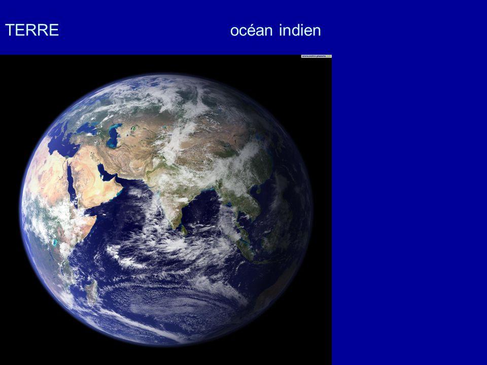 TERRE océan indien