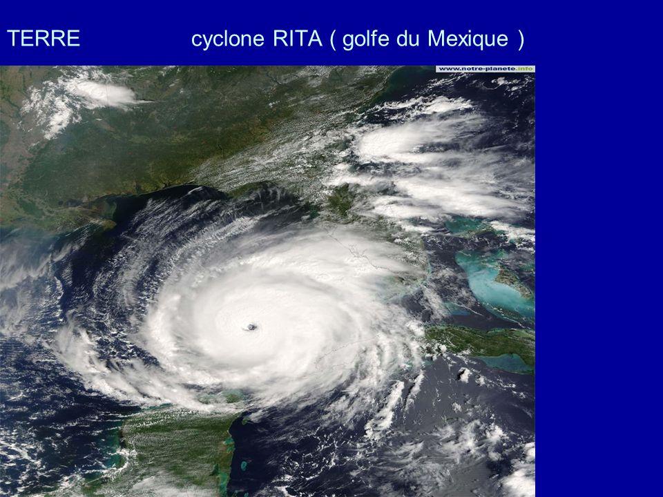 TERRE cyclone RITA ( golfe du Mexique )