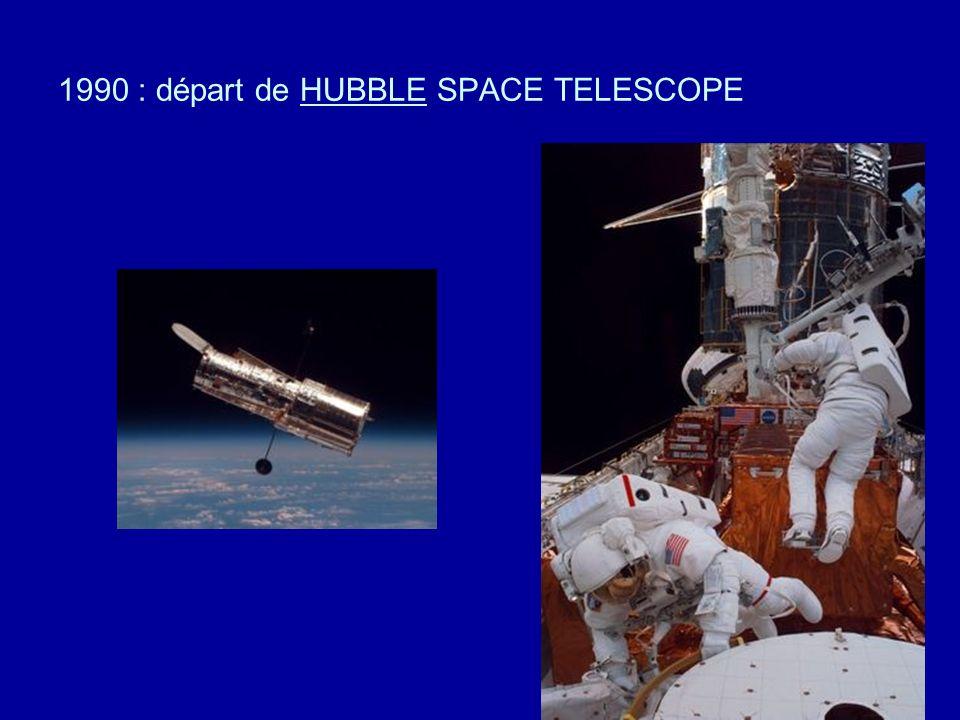 anneaux de SATURNE ( fausses couleurs ) son satellite TITAN