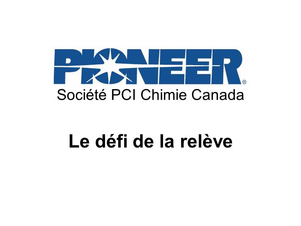 Société PCI Chimie Canada Le défi de la relève