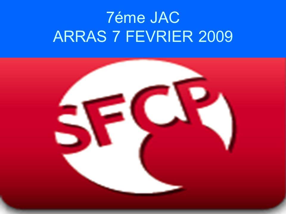 7éme JAC ARRAS 7 FEVRIER 2009