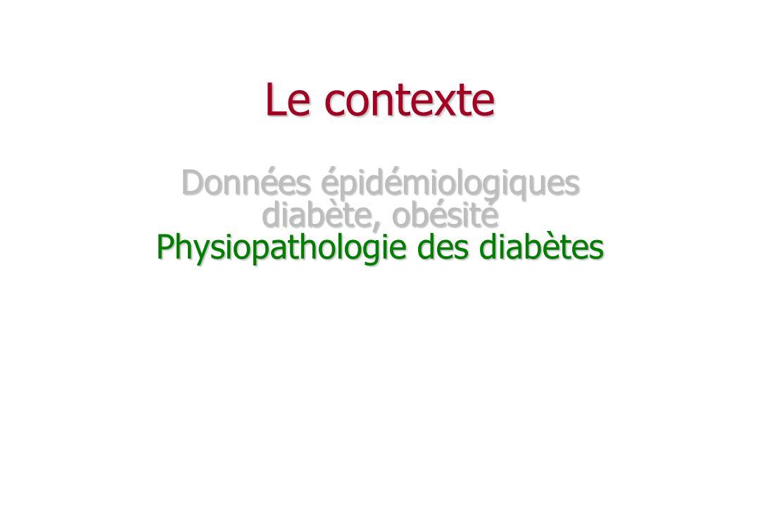Physiopathologie du diabète de type 1 Diabète de type 1 Diabète de type 1 10 % des diabètes 10 % des diabètes terrain génétique terrain génétique destruction auto-immune des cellules des îlots de Langerhans destruction auto-immune des cellules des îlots de Langerhans insulinopénie absolue insulinopénie absolue