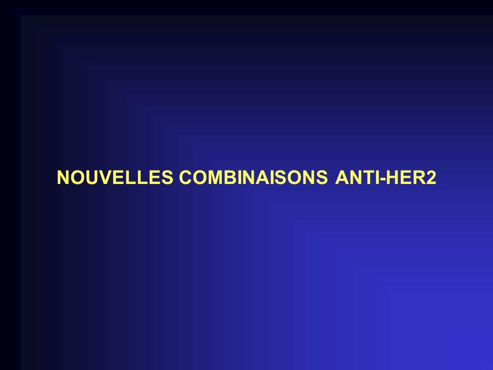 NOUVELLES COMBINAISONS ANTI-HER2