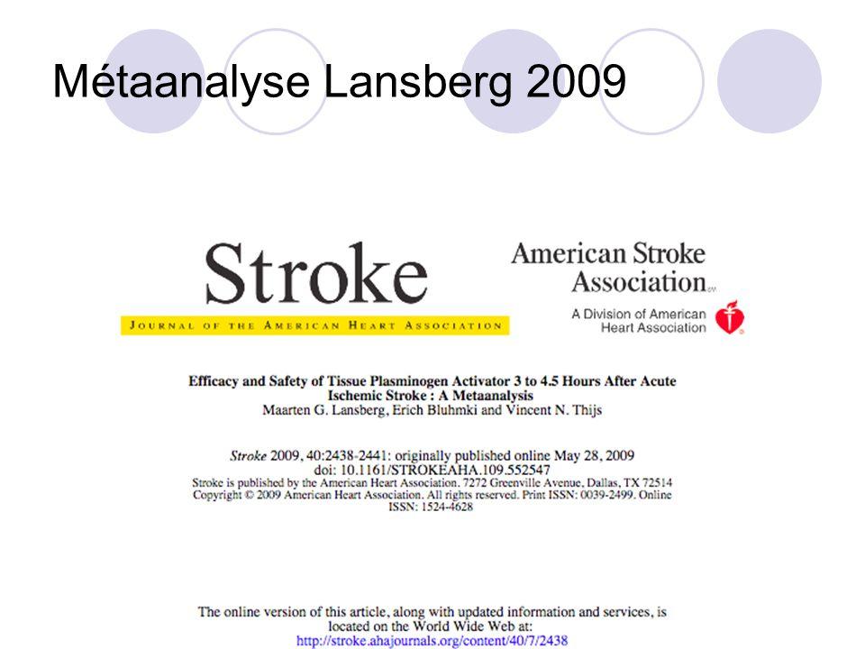 Métaanalyse Lansberg 2009