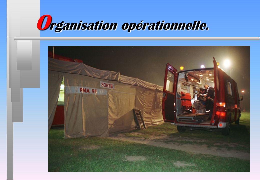 O rganisation opérationnelle.