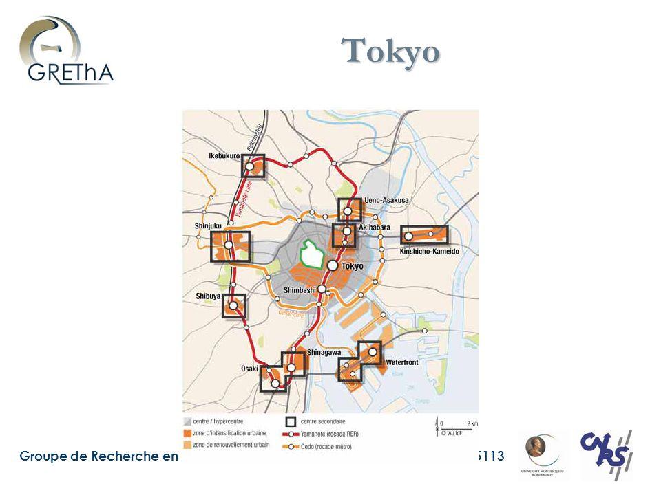 Groupe de Recherche en Economie Théorique et appliquée – UMR CNRS 5113 Tokyo